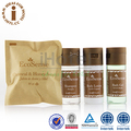 Supply Eco-friendly Packaging Disposable Guest Room Amenities