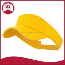 Soft and Thin Cotton Terry Cloth Sun Visor with Inner hatband