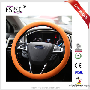 Brand New Soft Silicone Plastic Car Truck Steering Wheel Covers 14 Inch Wheel Cover