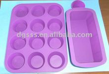 Silicone Cookware Sets/Muffin bakeware sets