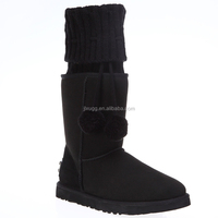 JLX2016 Australian sheepskin wool-one women snow boots, fashion winter boots