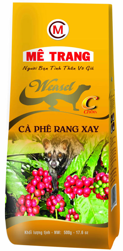 CHON ROASTED COFFEE BEANS - ME TRANG BRAND - C label