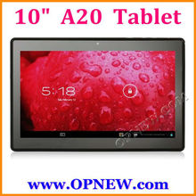 A20 Dual Core 10.1 inch Android 4.2 Tablets PC 1.52GHz HDM 1024*600 WIFI OPNEW Wholesale
