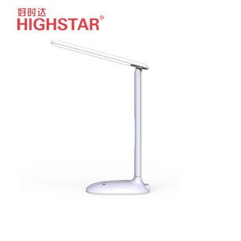 Bedside 6w LED table lamp with clock
