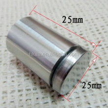 stainless steel advertisement fixing screws glass standoff pin