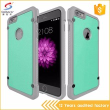 TPU PC leather mobile phone case for iphone 5 6 6plus 7 7plus,for samsung s8 case