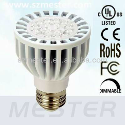 UL Listed 7W PAR20 4000K 40 Degree LED Spotlight 3 Years Warranty
