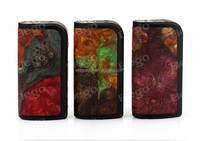 Collection Value! Rare Stabilized Wood Arctic Dolphin Adonis 80W TC Mod e cigarette