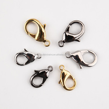 Clasps Hooks Jewelry Findings Type gold stainless steel lobster clasp
