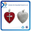 Custom heart shaped metal lapel pins badges