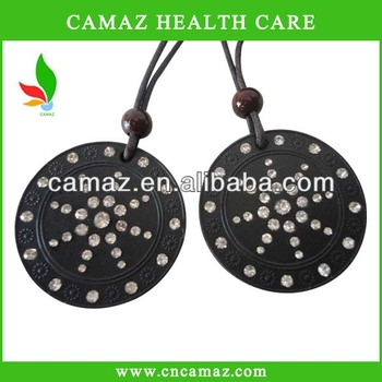 2016 hot bio quantum energy pendant with crystals at the wholesale price with high evaluation