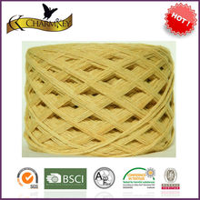 wholesale 100% untwisted raw bamboo yarn for knitting