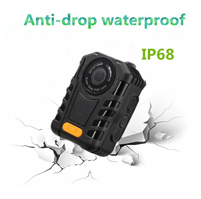 Police body camera support mini cable camera with 64G super night vision