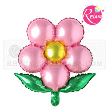 Reians customized 45*45cm baloon Pearl Powder inflatable flower balloon 2017 balloon ballon party supplies (Accept OEM,ODM)