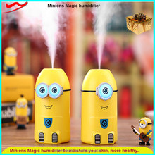 LED Minions humidifier / New household products cool ultrasonic transducer humidifier circuit