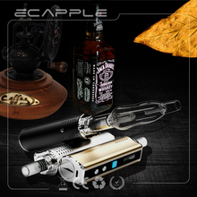 100% original Ecapple IV-1 box mod water filter bubbler e-cig smoking pipes for dry herbs & wax