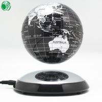 Christmas gift decoration ornament auto free rotation cute special electronic world globe