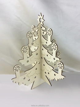 Gold supplier Wholesale Artificial Wooden Christmas Tree