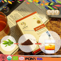 Authentea 10 Sachets Organic Certified High Quality Black Tea