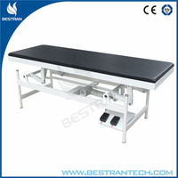 BT-EA009 Steel hospital medical patient electric examination table, electric treatment table, electrical adjustable exam couch