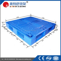 Heavy Duty Grid Single Faced Euro Pallet Plastic Pallet
