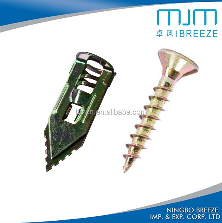 metal hammer fixing plasterboard anchor