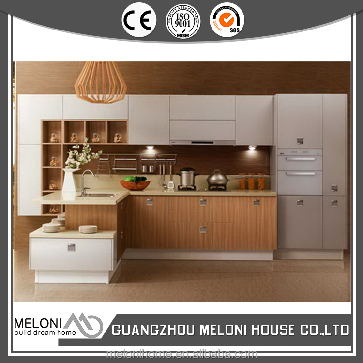 practical and modern cabinet in kitchen