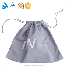New products 2017 large cotton laundry bag for handbag packaging