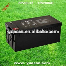 Sealed Lead Acid Rechargable SMF VRLA AGM Battery 12V 200AH -NP200-12