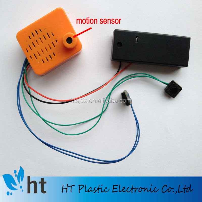 motion sensor sound chip/motion activated sound module