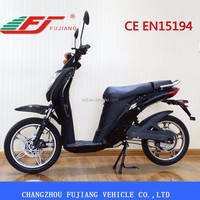 FHTZ 2015 colorful 350w electric scooter cheap with pedals