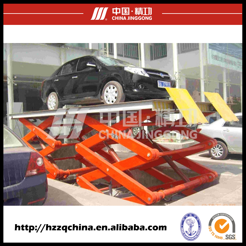 Custom outdoor automated dedicated parking lifting system for car