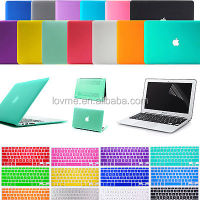 Matte Hard Case Keyboard Cover Screen Protector For Mac Book Air 11""