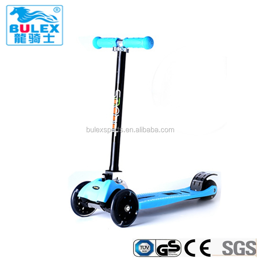 Aluminum folding toddlers scooter for kids