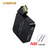 Factory price High quality VGA input HD-MI output converter audio cable box