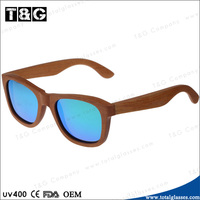 Fashion glasses Skateboard wood sun glasses China hot products sunglasses