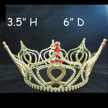 cheap fleur de lis small king full round pageant crown
