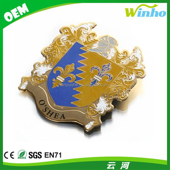 Winho Badge Shape Magnet for Refrigerator