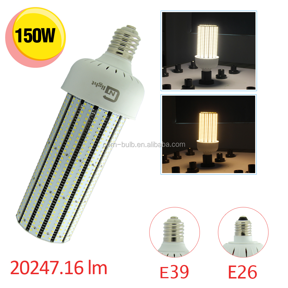 Energy saving light bulbs replace 400w metal halide 150w led corn light bulb