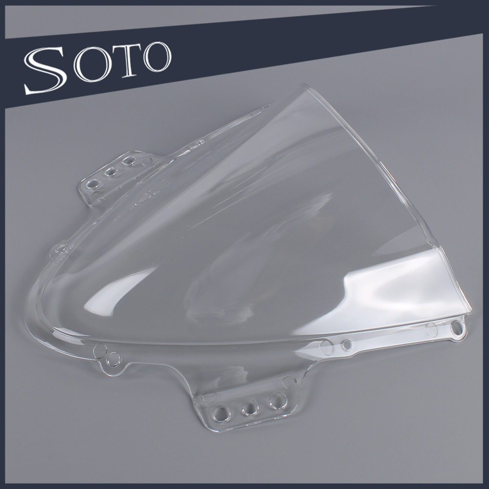 Wholesale motorcycle Windshield WindScreen Double Bubble for Suzuki GSXR1000 GSX-<strong>R1000</strong> 2005 2006