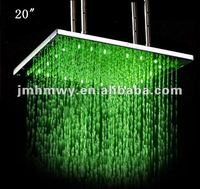 led rain shower big top shower Green Blue Red (Three colours) led rain shower