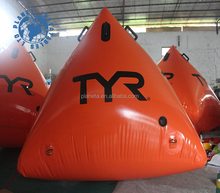 Custom inflatable floating buoy inflatable marker buoy for water sports