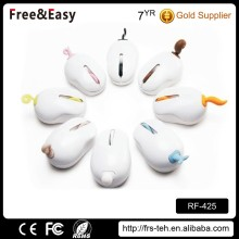 2.4G mini gift wireless usb animal mouse