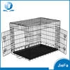 "24"" 30"" 36"" 42"" 48"" 60"" Inch 2 Doors Folding Suitcase dog Kennel With ABS Tray Dog Crate cate Cage"