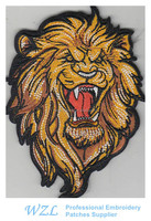 Custom patches embroidery for garment sccessories