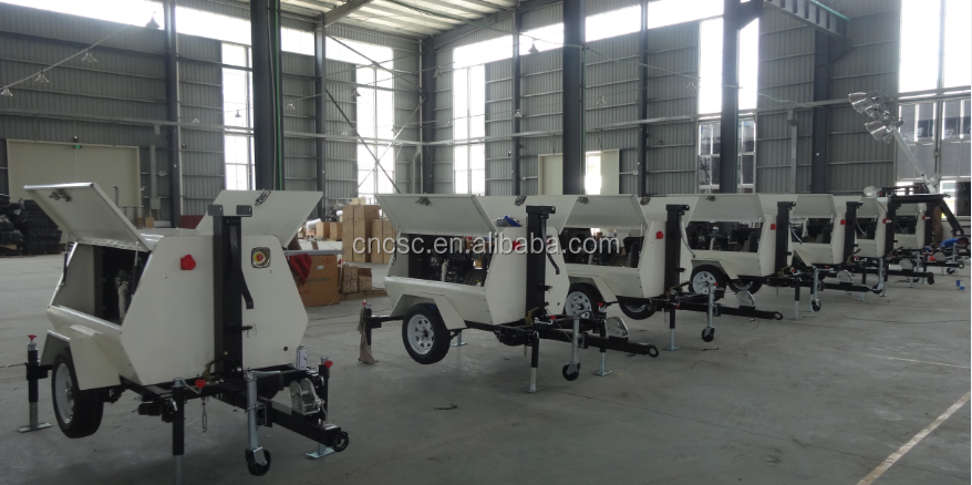 CSC POWER ! mobile light tower diesel generator
