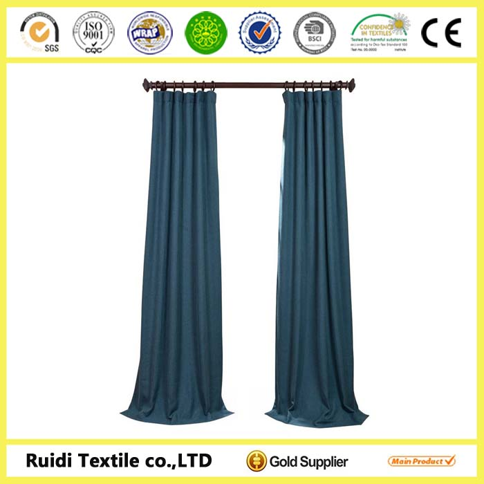 Fashion New Design Latest Style 100% Polyester Fabric Window Curtain