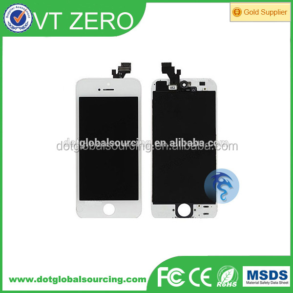 Wholesale mobile phone lcd for iphone 5,for iphone 5 lcd replacement,for iphone 5 lcd
