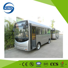 New Energy 20 Seats Electric Shuttle Sightseeing Bus Vehicle For City Public Transportation