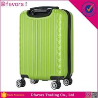 Factory price luggage abs bag suitcase on airplane wheels hardside suitcase in stock